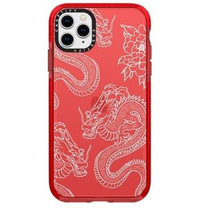Casetify red dragon iPhone 11 Pro case